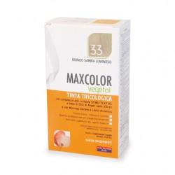 Vopsea de Par MaxColor Vegetal 33  Blond Nisip Luminos