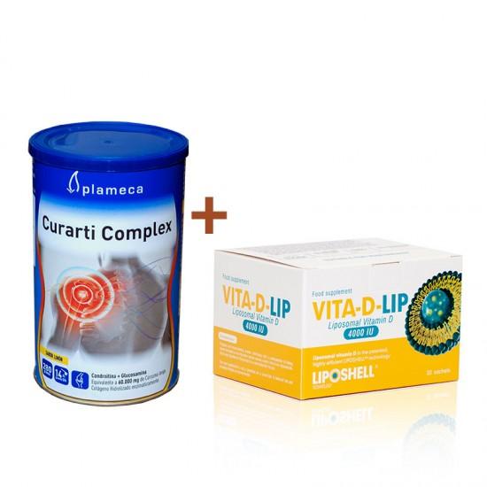 Pachet promotional - Curarti Complex+Vitamina D 4000 UI lipozomala