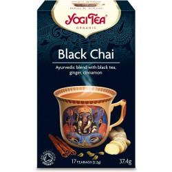 Ceai negru cu ghimbir ( Black Chai ) ECO, 17dz Yogi Tea