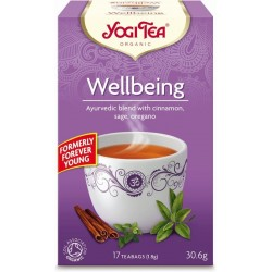 Ceai bunastare ( Wellbeing) ECO, 17dz Yogi Tea