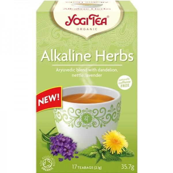 Ceai Plante Alcaline ECO 17dz Yogi Tea
