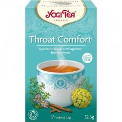Ceai Throat Comfort (Comfortul Gatului)  ECO 17dz Yogi Tea