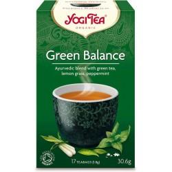Ceai Verde ( Green Balance) ECO , 17 dz Yogi Tea