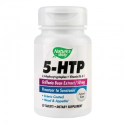 5-HTP Nature's Way, 30 tablete, Secom