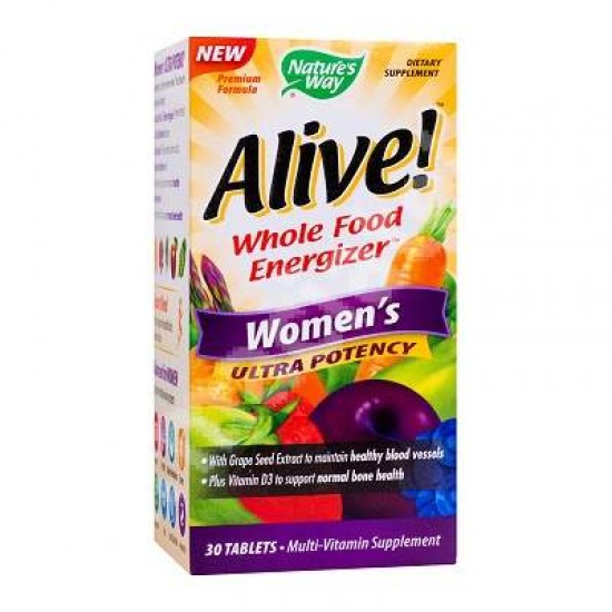 Alive Once Daily Women Ultra Nature's Way, 30 tablete, Secom