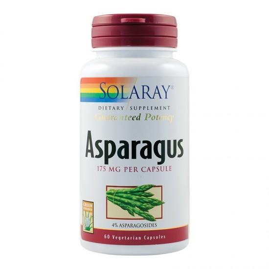 Asparagus Solaray, 60 capsule, Secom