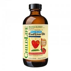 Cod Liver Oil Childlife Essentials, 237 ml, Secom