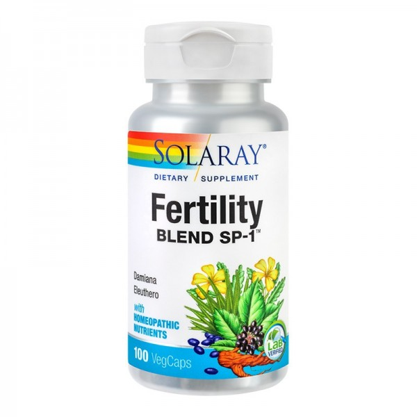 Fertility Blend Solaray, 100 capsule, Secom