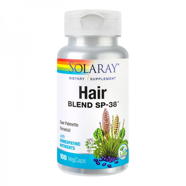 Hair Blend Solaray, 100 capsule, Secom