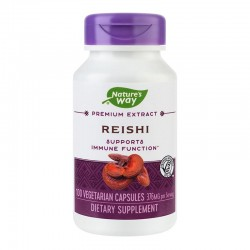 Reishi Nature's Way, 100 capsule, Secom
