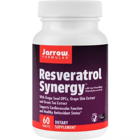 Resveratrol Synergy Jarrow Formulas, 60 tablete, Secom