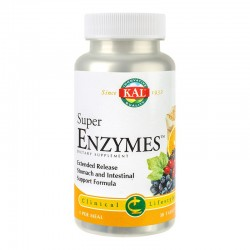 Super Enzymes Kal, 30 tablete, Secom