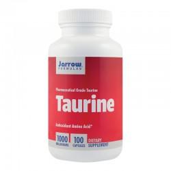 Taurine 1000 mg, Antioxidant Amino Acid Jarrow Formulas, 100 capsule, Secom