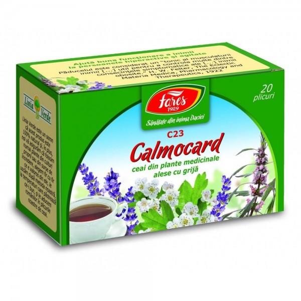 Calmocard calmant cardiac, C23, ceai la plic