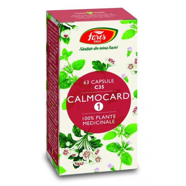 Calmocard (calmant cardiac) capsule, C35