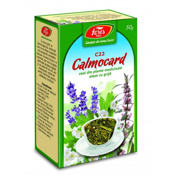 Calmocard calmant cardiac, C22, ceai la punga