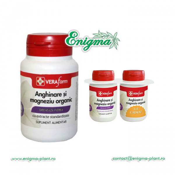 Anghinare si magneziu organic