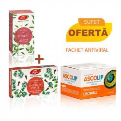 Pachet Antiviral - Vitamina C Lipozomala+Biosept+Biomicin Forte