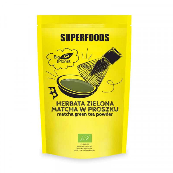MATCHA PULBERE  ECO 100GR SUPERFOOD