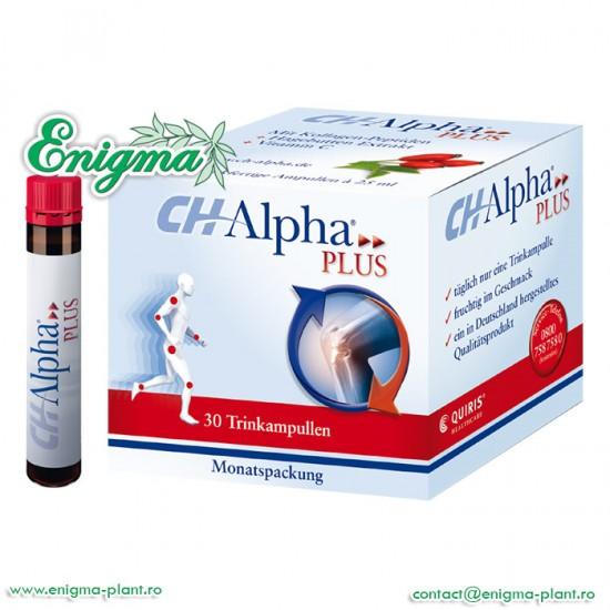 CH Alpha Plus Colagen Lichid, cutie cu 30 fiole de uz oral