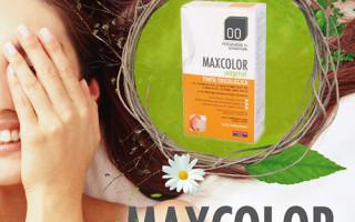 Alege sanatos – vopseaua de par fara amoniac, MaxColor