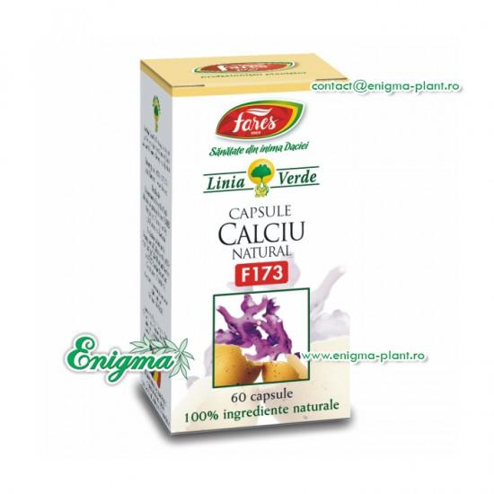 Calciu natural 60 cps F173