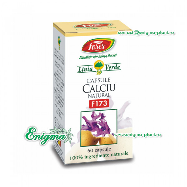 Calciu natural 60 cps F173
