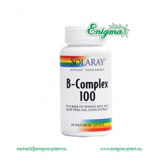 B-complex 50 cps vegetale