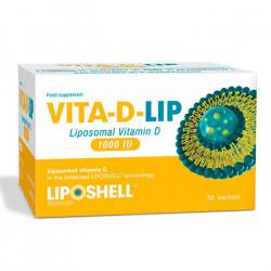 Vitamina D Lipozomala VITA-D-LIP 1000 IU 30 plicuri