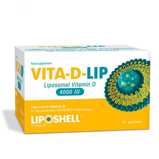 Vitamina D Lipozomala VITA-D-LIP 4000 IU 30 plicuri