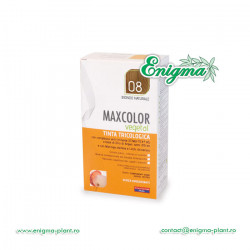 Vopsea de Par MaxColor Vegetal 08 Blond Natural