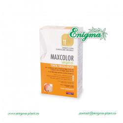 Vopsea de Par MaxColor Vegetal 11 BLOND PLATINAT DESCHIS