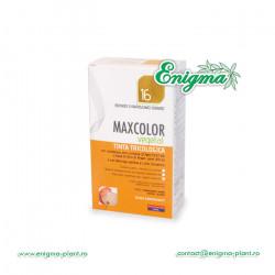 Vopsea de Par MaxColor Vegetal 16 BLOND PLATINAT DESCHIS NATURAL