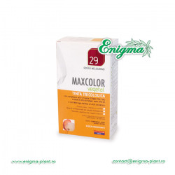 Vopsea de Par MaxColor Vegetal 29 ROSU RODIE