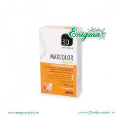 Vopsea de Par MaxColor Vegetal 30 NEGRU ALBASTRUI