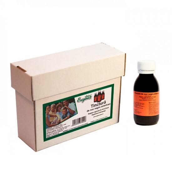 Tinctura din Coaja de Nuc Negru American – cutie cu 3x100 ml