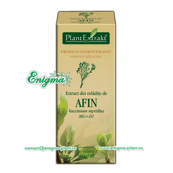 Extract din mladite de afin – 50ml