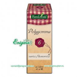 Polygemma 6 – Varice / Hemoroizi – 50ml