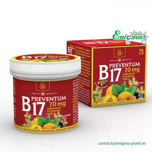 B17 Preventum - vitamina B17 (amigdalina)