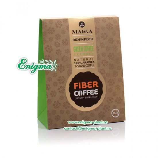 Cafeaua Verde cu Fibre - 234g