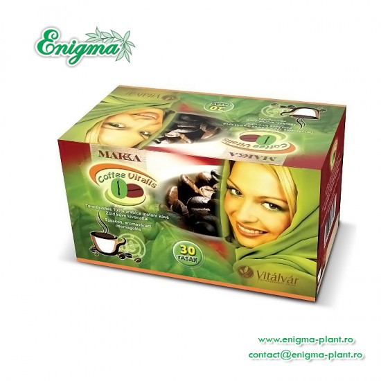 Cafea Verde Vitalis 30 plicuri